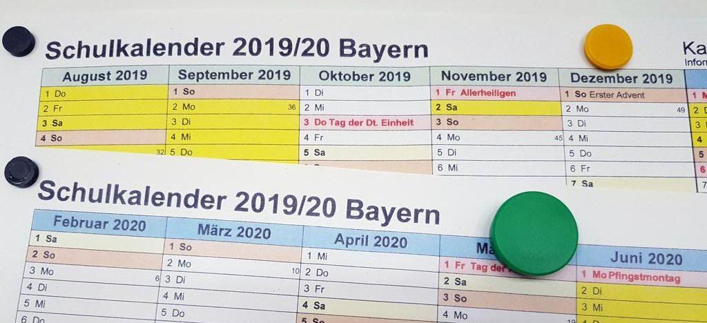 ferien bayern 2019 kalender